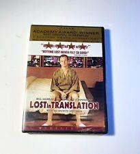 Lost in Translation (Dvd - 2004) Dvd In Original Shrink Wrap! - New - Free Ship