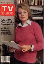 1979 TV Guide December 1 - Barbara Walters; Kristy McNichol; Jack Barry; Morris