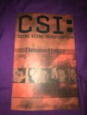CSI Crime Scene Investigation Demon House Comic