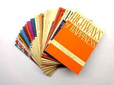 Lot (20) Vintage HIGHWAYS OF HAPPINESS 1930's-1940's Monthly Publication
