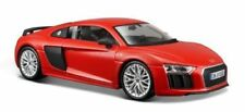 Maisto 1:24 Audi R8 V10 Plus Red Diecast Model Racing Car Vehicle NEW IN BOX