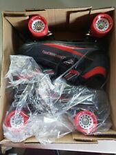 M4 Viper Speed Roller Derby RD Mens Size 10 Quad Skates Black Red Skating