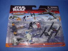 Star Wars GALACTIC SHOWDOWN The Force Awakens Micro Machines Deluxe Vehicle Pack