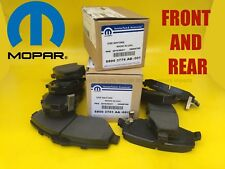 MOPAR OEM Brake Pads FRONT+REAR Cherokee Liberty 2008-2013 INTERNATIONAL DHL