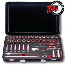 GearWrench 83057 42-Piece Standard & Deep Socket Set Metric / SAE 3/8″ Drive