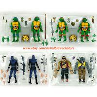 nickelodeon TMNT Teenage Mutant Ninja Turtles D L M R 6in Action Figure Kids Toy