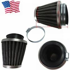 42MM Air Filter Cleaner Black Pit Dirt Bike ATV Motorcycle Scooter Universal US