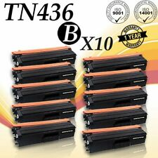 10 PACK TN436 BLACK Toner for Brother MFC-L8610CDW MFC-L8900CDW MFC-L9570CDW