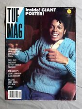 TUF MAG No. 1 ~ Michael Jackson ~ Fold-out giant poster!