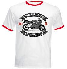DUCATI 900 SS-Nuova T-shirt Cotone-Tutte le taglie in magazzino