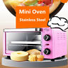 10L Mini Oven Electric Table Top Portable Compact Baking Cooking Roast Wire Rack