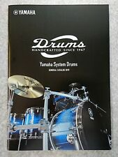YAMAHA DRUMS 2019 GENERAL CATALOG New F/S w/Tracking No.