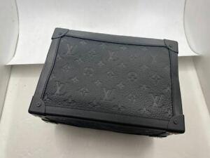 Louis Vuitton Soft Trunk taurillon monogram bag m55700