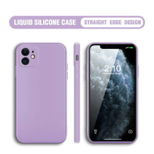 Shockproof Liquid Silicone Case Cover For iPhone 12 11 Pro Max XR X 8 7 Plus 6