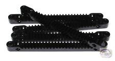 LEGO Technic - 5 x 13L Gear Rack - Black - New - (EV3, NXT)