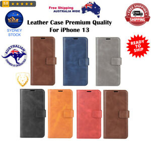Horizontal Flip Leather Case with Holder & Card Slots & Wallet For iPhone 13
