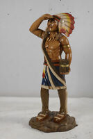 "48"" Tobacco Cigar Store Indian Native American Statue Collectible"