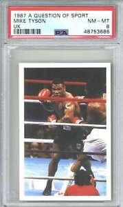 1987 A Question of Sport UK Mike Tyson PSA 8