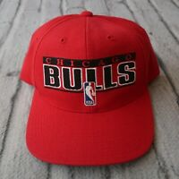 Vintage Chicago Bulls Snapback Hat by Sports Specialties Cap 90s
