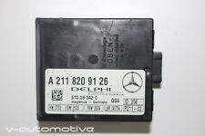 2006 Mercedes R171 W171 W220 S Classe SLK / ALARME MODULE DE CONTRÔLE