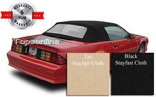 Camaro & Firebird Convertible Top With Plastic Window & Inst. Video, Cloth 90-93