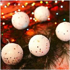 Christmas Snowball Balls Party Ornaments Christmas Tree Hanging Christmas Decals