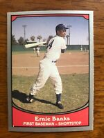 1990 Pacific Baseball Legends ERNIE BANKS Chicago Cubs Hall of Fame Card #5