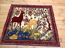 Wunderschöner Perserteppich Orientteppich Hamadan 115 X 120 CM TOP   Neu