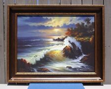 """WILLIAM DeSHAZO S/N Limited Edition Print on Canvas #67 of 250 """"PACIFIC DREAMS"""""""