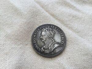 Coin England ANNA 1702-14 Silver Medal