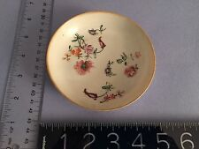 Antique 18th century Worcester Dish Chinese style very thin beautiful porcelain