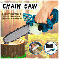 8'' Brushless Cordless Electric Chainsaw Wood Cutting Tools For Makita Battery