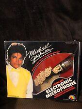 Vintage Michael Jackson Cordless Electronic Microphone LJN 1984