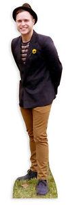 OLLY MURS LIFESIZE CARDBOARD CUTOUT STANDEE STANDUP Pop Star Singer Wearing Hat