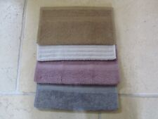 Cotton Flannels / Face Cloths x 4 Brand New