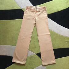 STEFANEL Stef-in-time pantaloni Pants Jeans Wide leg nude beige cotton 40 sand