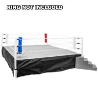 Set of 4 Wrestling Ring Corner Pads for Wrestling Figures: Red, White, Blue