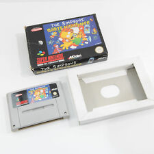The Simpsons Bart's Nightmare-Coffret-Super Nintendo SNES Game PAL