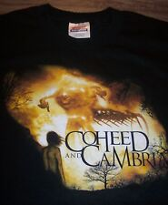 COHEED and CAMBRIA PUNK BAND T-Shirt YOUTH XL 18-20 NEW