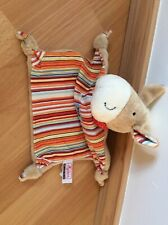 Sigikid stripe Jappy Jump brown horse pony baby comforter doudou blankie soother