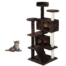 Cat Climb Trees Cat Toys Cat Play House Kitten Pet House Hammock  W/Screws 52""