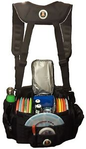 Disc Golf Cooler Bag with Removable cooler - Backpack straps - Shoulder Strap