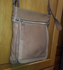 Lloyd Baker Tan Brown  Genuine Leather Crossbody Messenger Shoulder Bag