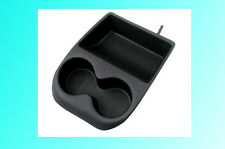 Front Console Cup Holder Black For VW Golf MK3 3.5 Golf Jetta Vento Cabrio LHD
