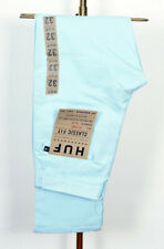 Huf Worldwide Skate Shoes Chino Pants Trousers Fulton Classic Light Blue in 32