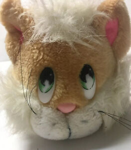 Applause Knickerbocker #7740 1981 Orange CALVIN Kitty Cat Vintage Plush
