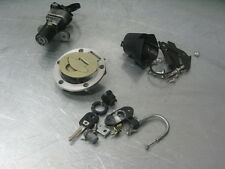 DUCATI ST3 06 2006 LOCK SET GAS CAP KEY IGNITION SWITCH SEAT 13K MILES