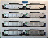 N Scale KATO Bethgon Protein Gondola 'SBTX' (8) Car Set#1 Item #106-4652