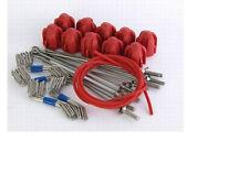 GEMINI grip standard Kit di montaggio-ROSSO-Long Tail (170g) - 10 Set