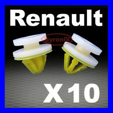 RENAULT TRAFIC DOOR CARD PANEL TRIM CLIPS INTERIOR MK2 TRAFFIC Yellow